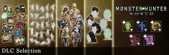 Monster Hunter: World - DLC Selection