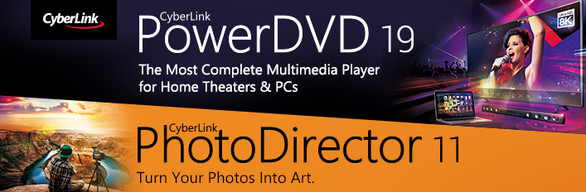PowerDVD 19 Ultra + PhotoDirector 11 Ultra Value Pack