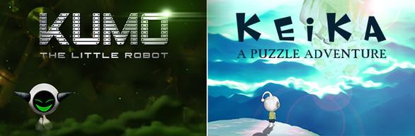 BUNDLE : KEIKA : A Puzzle Adventure + KUMO The Little Robot