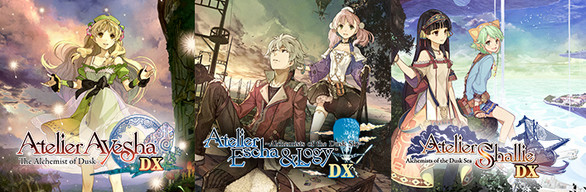 Atelier Dusk Trilogy Deluxe Pack / アトリエ ~黄昏の錬金術士 トリロジー~ DX