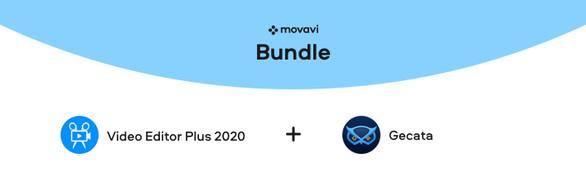 Movavi Video Editor Plus 2020 + Gecata by Movavi - Game Recorder