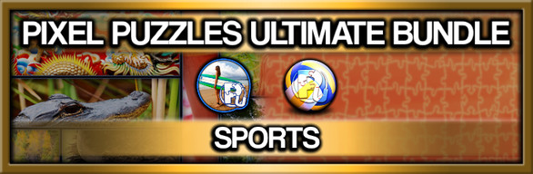 Pixel Puzzles Ultimate Jigsaw Bundle: Sports