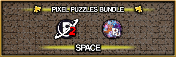 Pixel Puzzles Jigsaw Bundle: Space