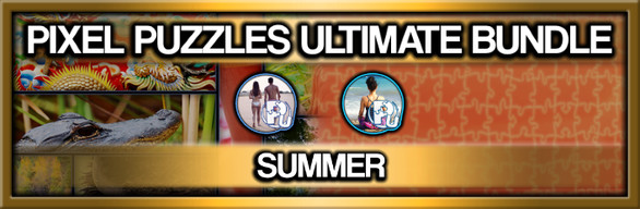 Pixel Puzzles Ultimate Jigsaw Bundle: Summer
