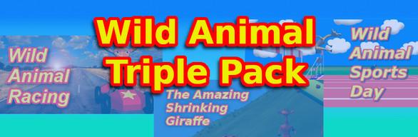 Wild Animal Triple Pack
