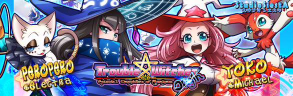 """Trouble Witches Origin """"Duo"""" Additional Character Pack"""