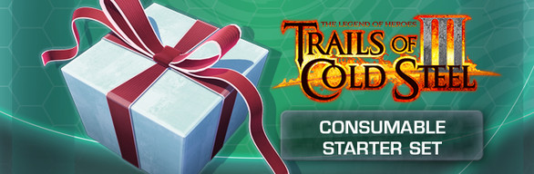 The Legend of Heroes: Trails of Cold Steel III - Consumable Starter Set