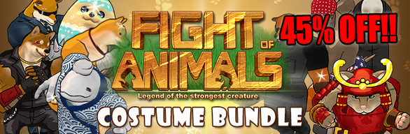 Fight of Animals 10 Costumes Bundle