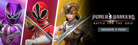 Power Rangers: Battle for the Grid - Season Three Pass