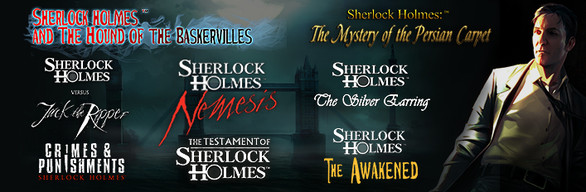 Sherlock Holmes Complete Adventures