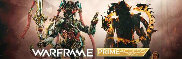 Warframe Nezha Prime Access: Divine Spears Bundle