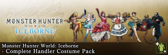 MHW:I - Complete Handler Costume Pack
