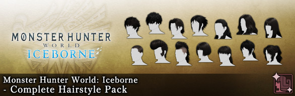 MHW:I - Complete Hairstyle Pack