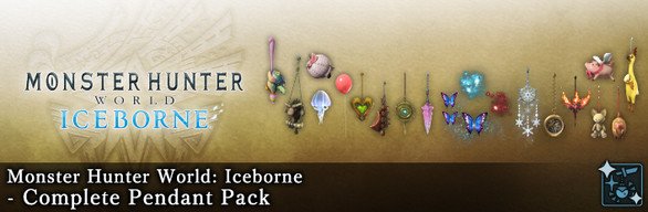 MHW:I - Complete Pendant Pack
