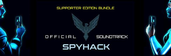 SpyHack + Soundtrack (Supporter Edition Bundle)