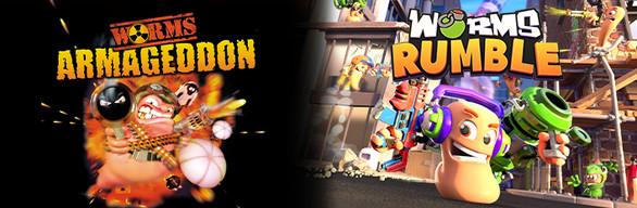 Worms Rumble vs. Retro Bundle