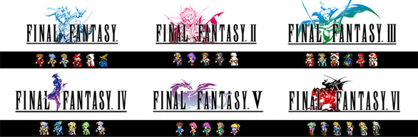 FINAL FANTASY I–VI Bundle