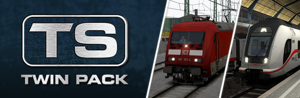 West Rhine: Köln - Koblenz & DB BR 146.5 & BR 668.2 'Intercity 2' Twin Pack