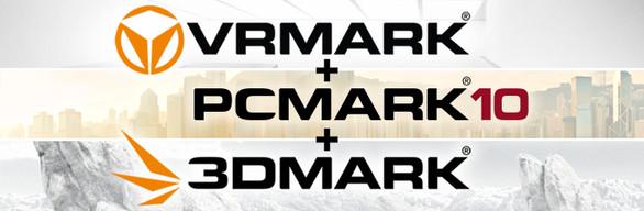 3DMark + PCMark 10 + VRMark