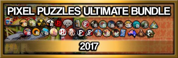 Pixel Puzzles Ultimate Jigsaw Bundle: 2017