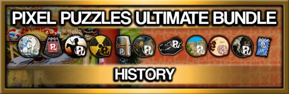 Pixel Puzzles Ultimate Jigsaw Bundle: History