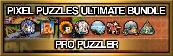 Pixel Puzzles Ultimate Jigsaw Bundle: Pro Puzzler
