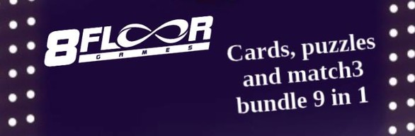 Cards, puzzles and match3 bundle with TCards All in one
