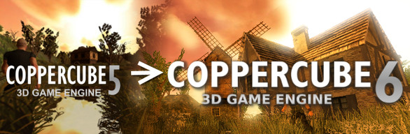 CopperCube 5 and 6 Professional