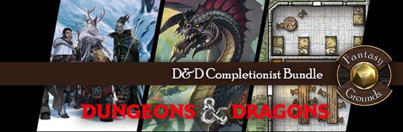 Fantasy Grounds D&D Completionist Bundle