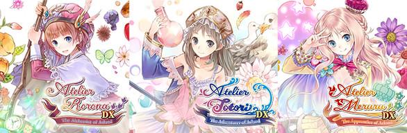 Atelier Arland series Deluxe Pack - アトリエ ~アーランドの錬金術士1・2・3~ DX