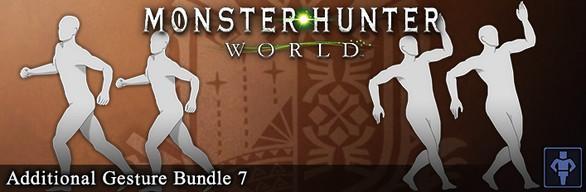 Monster Hunter: World - Additional Gesture Bundle 7