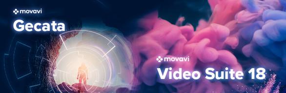 Movavi Video Suite 18 + Gecata by Movavi - Game Recorder