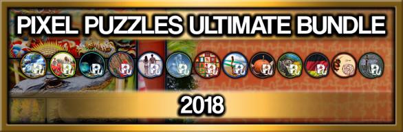 Pixel Puzzles Ultimate Jigsaw Bundle: 2018