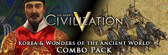 Civilization V: Korea and Wonders of the Ancient World - Combo Pack