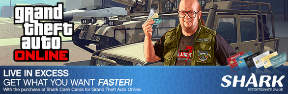 GTA V: Whale Shark Card (Starter Pack Bundle)