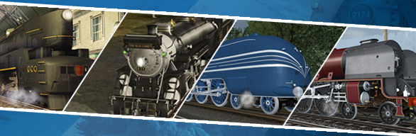 Trainz Simulator DLC: Locomotives Pack Volume 1