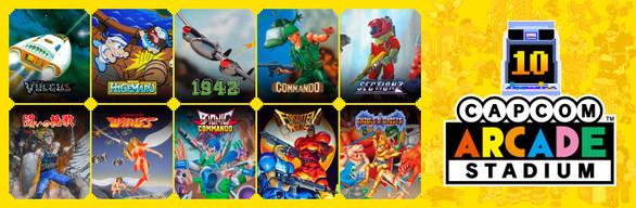 Capcom Arcade Stadium Pack 1: Dawn of the Arcade ('84 – '88)