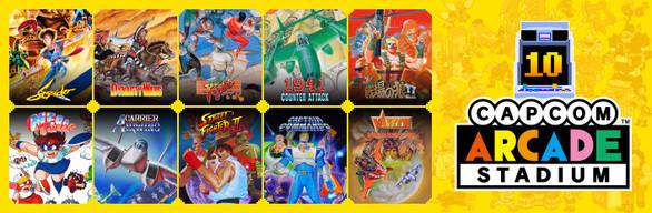 Capcom Arcade Stadium Pack 2: Arcade Revolution ('89 – '92)