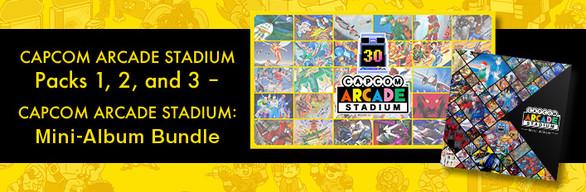 Capcom Arcade Stadium Packs 1, 2, and 3 – Mini-Album Bundle