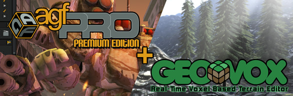 Axis Game Factory's GeoVox + AGFPRO + Premium DLC