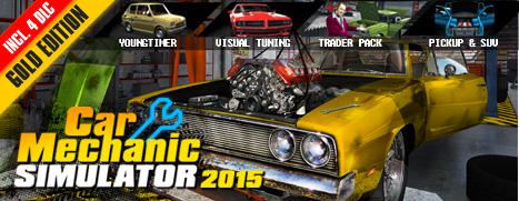 Car Mechanic Simulator 2015 - PickUp & SUV Download