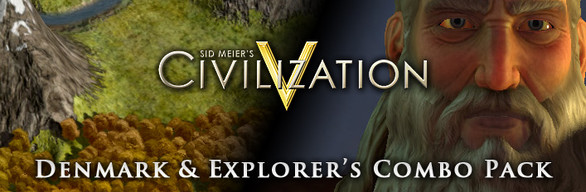 Civilization V: Denmark and Explorer's Combo Pack