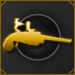 Annley Revolver Gold Medal