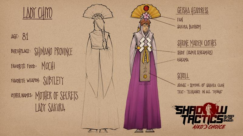 Shadow Tactics Lady Chiyo
