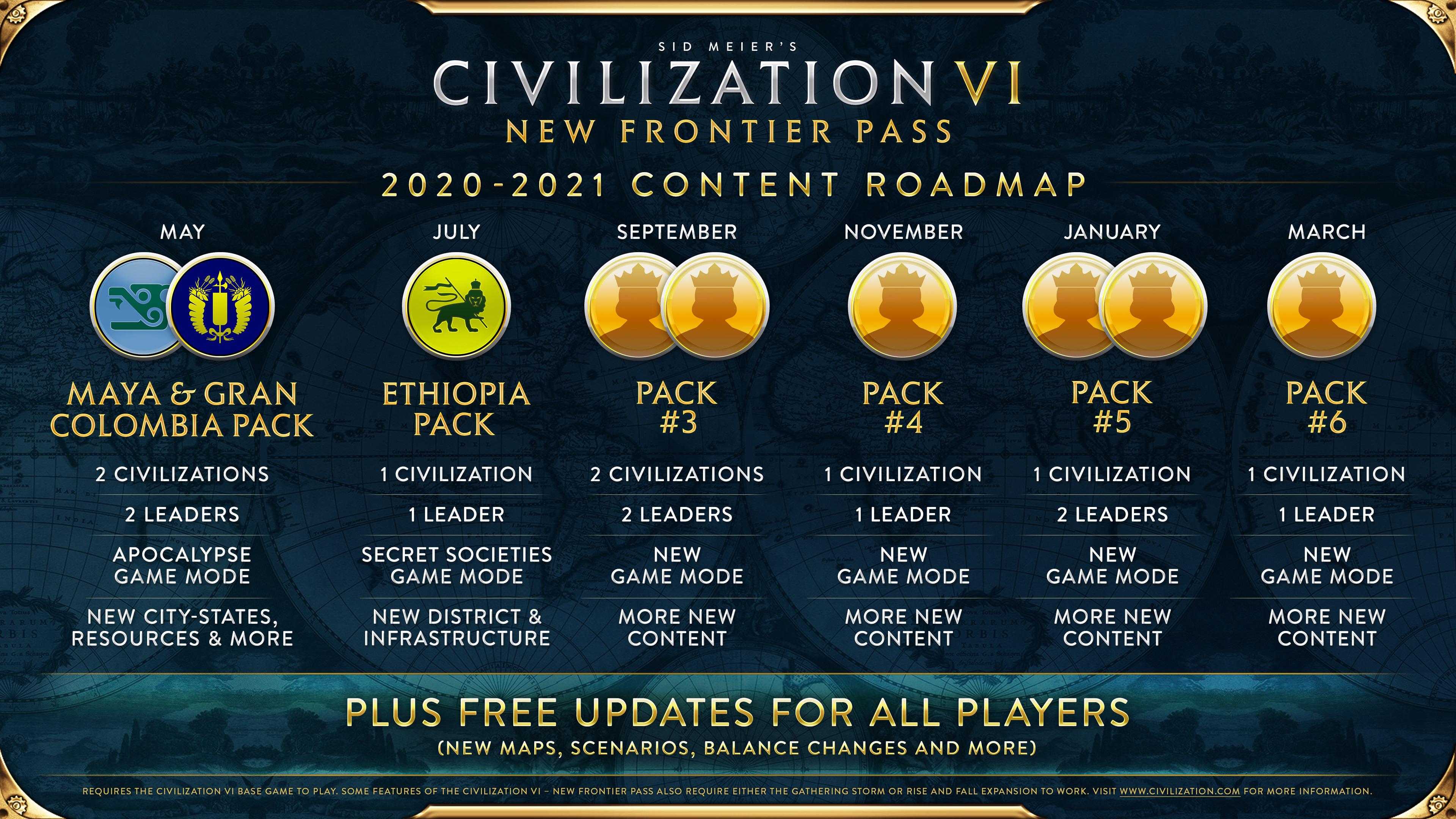 Sid Meier S Civilization Vi Civilization Vi Maya Amp Gran Colombia Pack Available Now Steam News