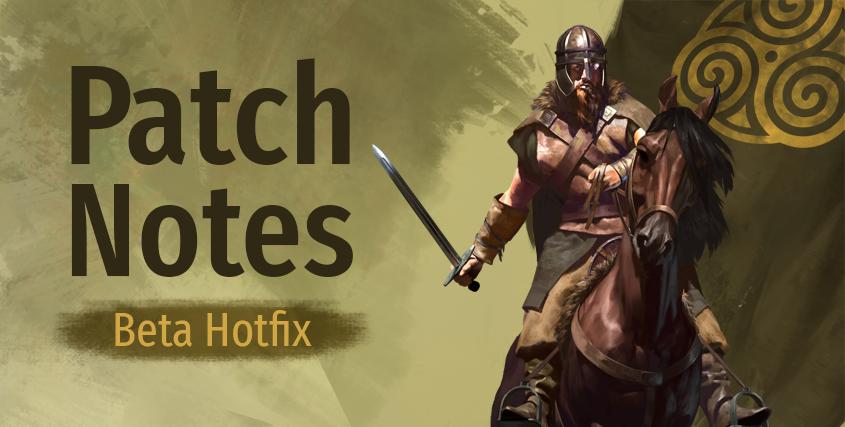 Beta Hotfix (e1.6.0 - 06/07/21)
