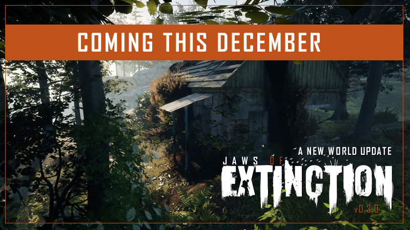 Big updates for Jaws of Extinction are just around the corner! New map update.