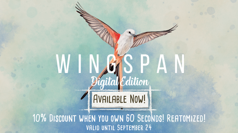 Bird is the word! Wingspan is out!