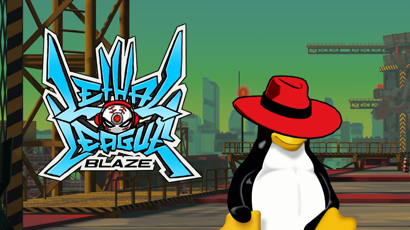 Linux version of lethal league blaze