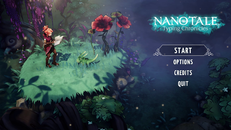 Nanotale - Typing Chronicles - Nanotale is now available! - Steam News